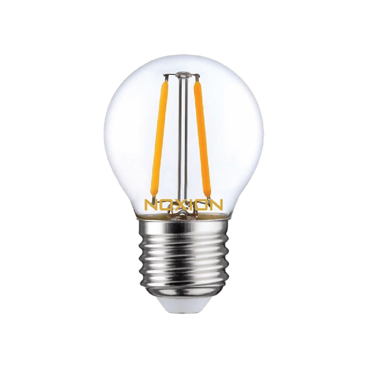 Noxion Lucent LED Lustre E27 2.6W 827 Filament | Remplacement 25W