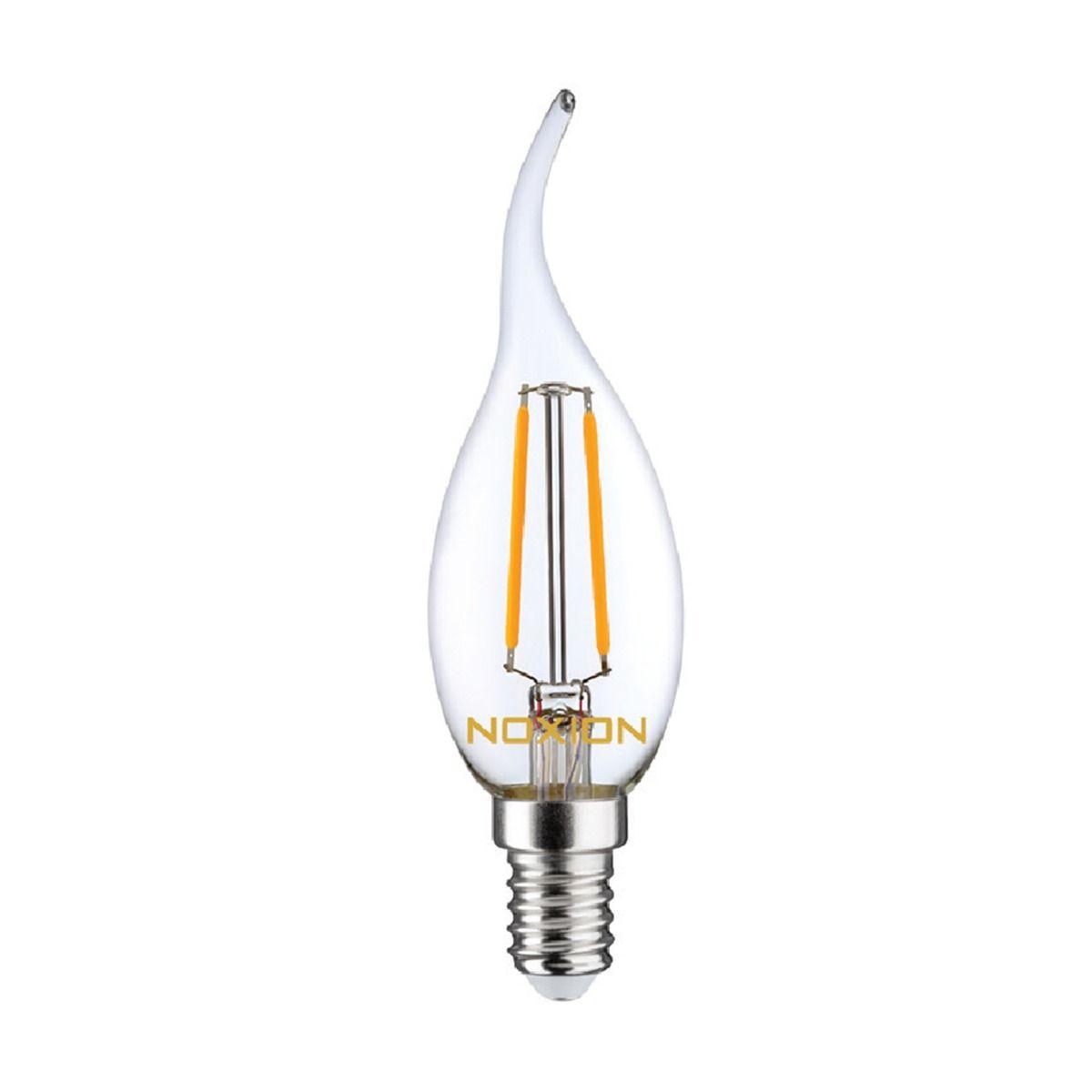 Noxion Lucent Filament LED Candle 2.5W 827 BA35 E14 Claire   Remplacement 25W