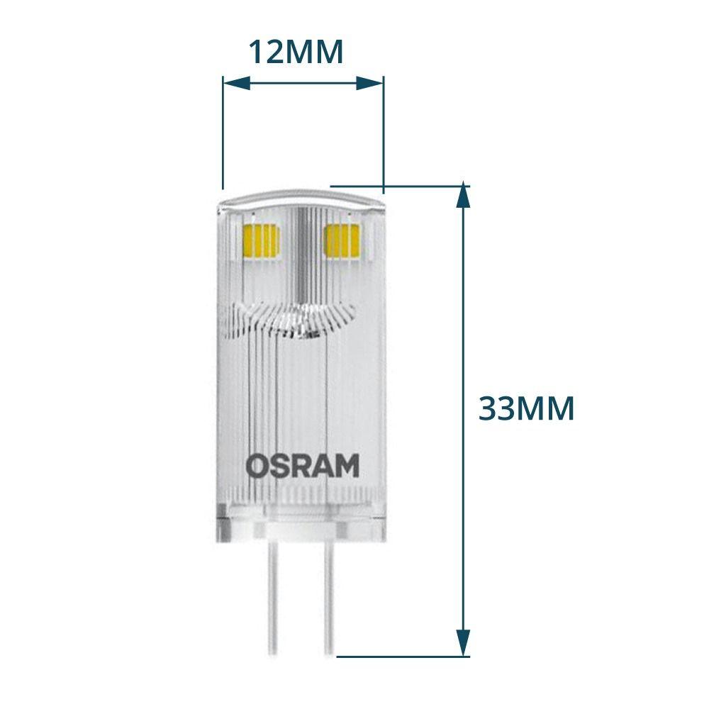 Osram Parathom Pin G4 0.9W 827 Claire | Substitut 10W