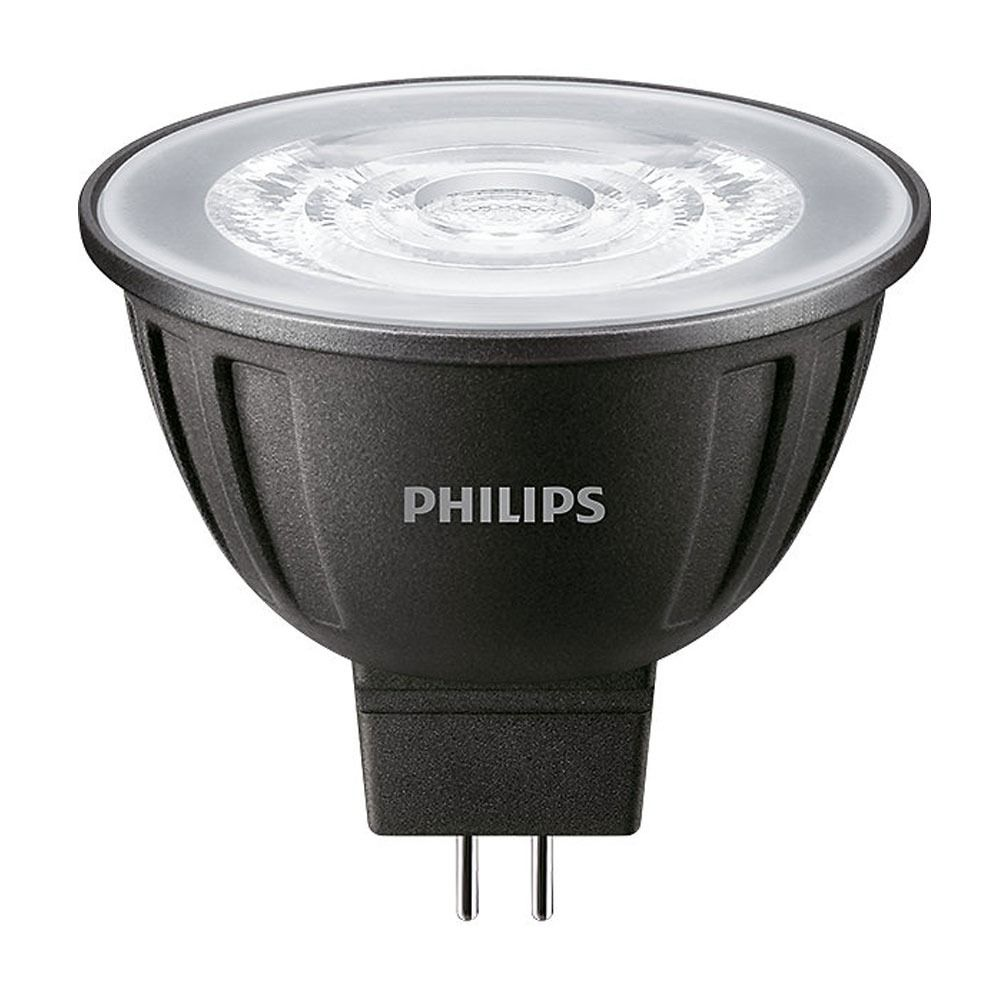Philips LEDspot LV GU5.3 MR16 8W 840 24D MASTER   Dimmable - Substitut 50W