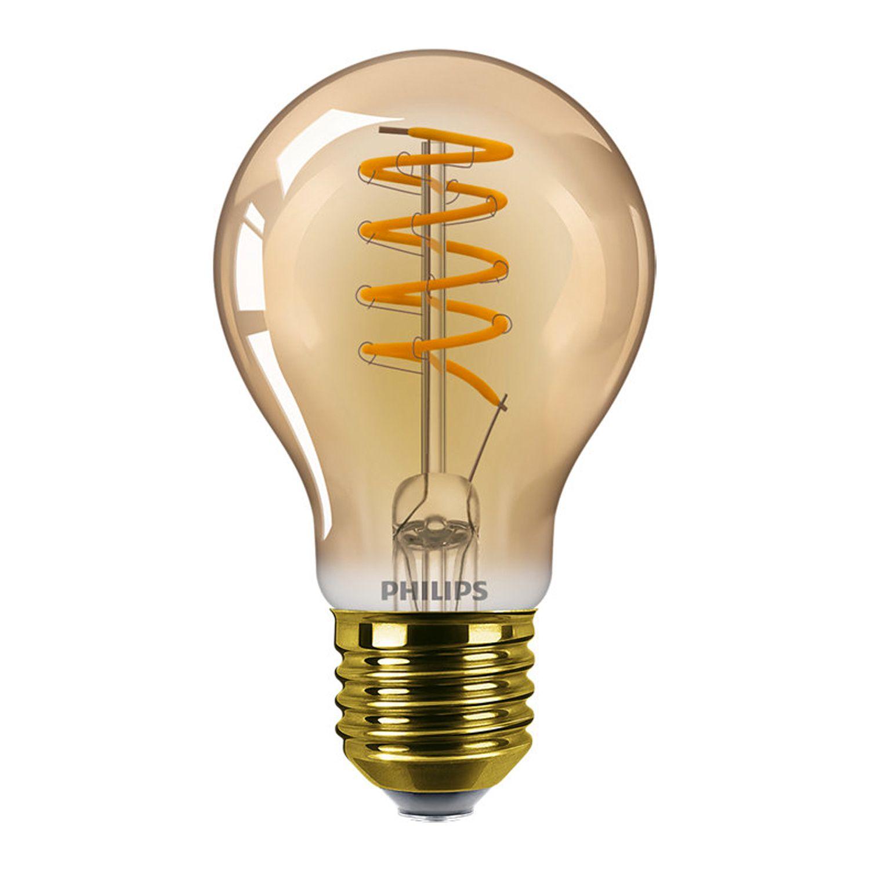 Philips Classic LEDbulb E27 A60 5.5W 820 Dorée | Dimmable - Remplacement 25W