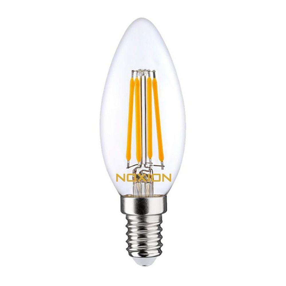 Noxion Lucent Filament LED Candle 4.5W 827 B35 E14 Claire | Remplacement 40W