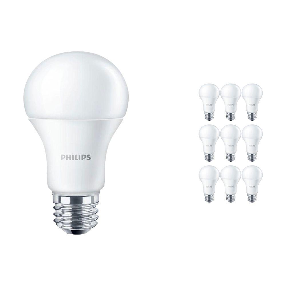 Lot 10x Philips CorePro LEDbulb E27 10.5W 830 Matt   Remplacement 75W