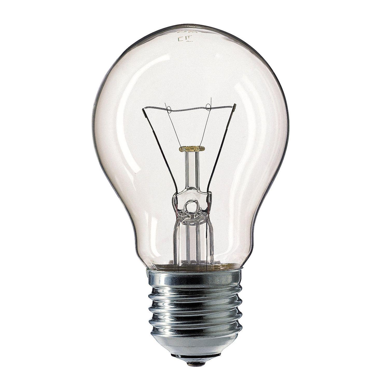 Standard Ampoule à Incandescence Claire E27 40W 230V