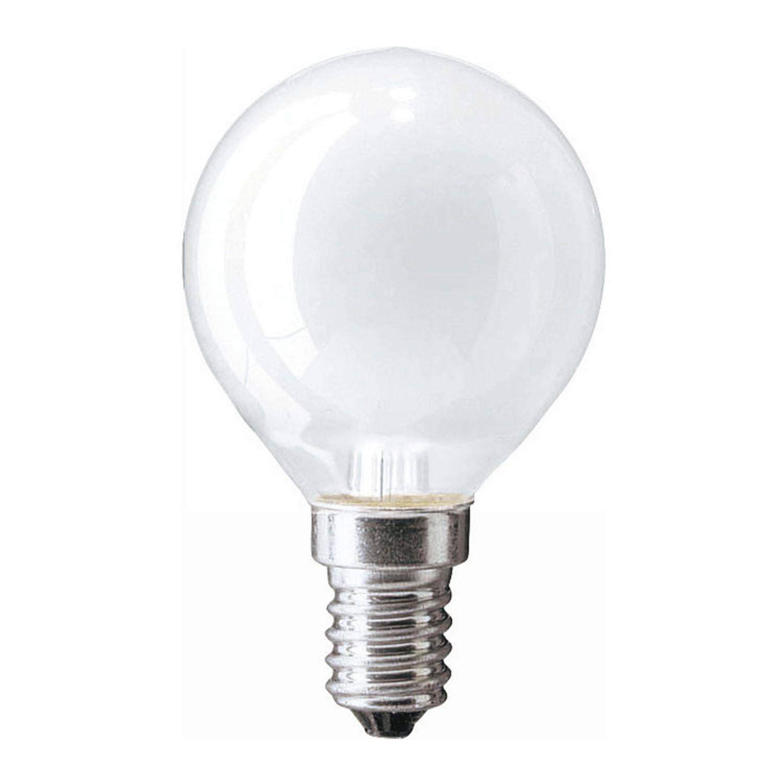Standard Ampoule à Incandescence Round Dépolie P45 E14 40W 230V