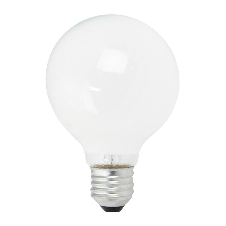 Ampoule Incandescente Globe Opal E27 G80 40W 230V | Dimmable