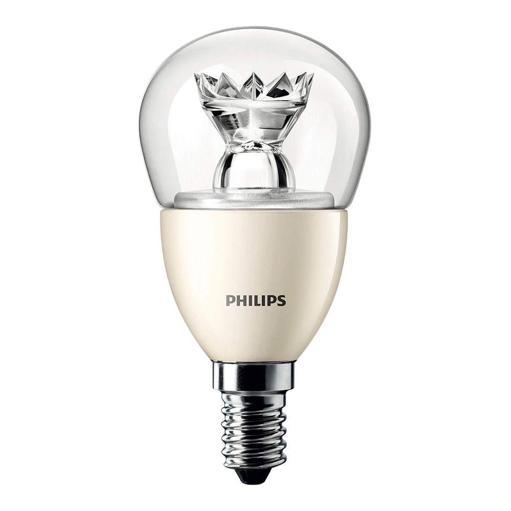 Philips LEDluster E14 P50 8W 827 Claire MASTER | DimTone Dimmable - Substitut 60W