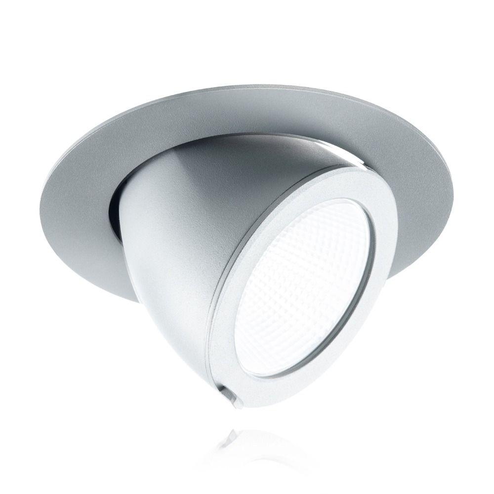 Noxion Downlight LED pourza 3000K 3000lm 36D Gris | Substitut 70W CDM