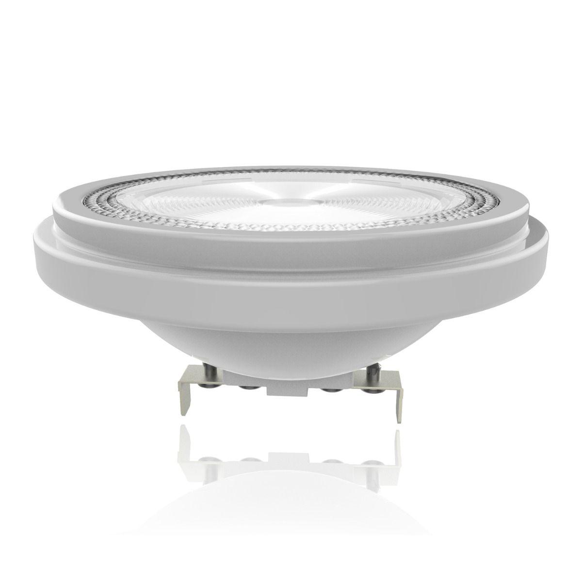 Noxion Lucent Spot LED AR111 G53 12V 11.5W 930 40D   Dimmable - Meilleur rendu des couleurs - Substitut 75W