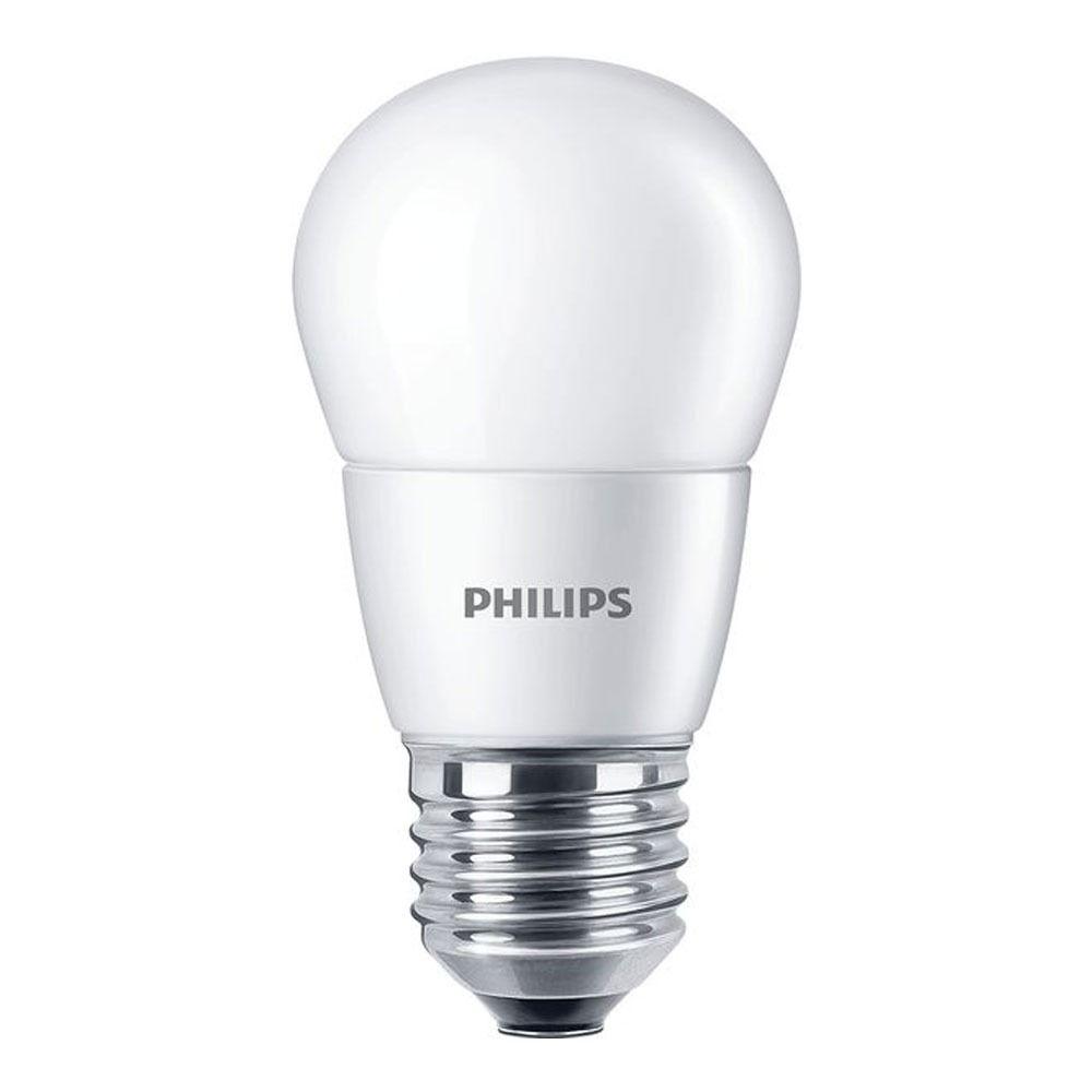 Philips CorePro LEDlustre E27 P48 7W 827 Dépolie | Substitut 60W