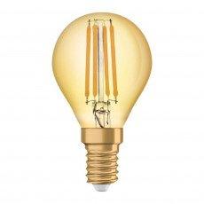 Osram Vintage 1906 LED E14 P45 2.5W 825 Dorée | Substitut 22W