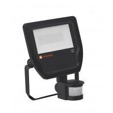 Ledvance Projecteur LED 20W 4000K 2200lm IP65 Noir  avec Sensor - Substitut 50W