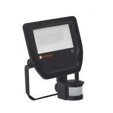 Ledvance Projecteur LED 20W 3000K 2200lm IP65 Noir  avec Sensor - Substitut 50W
