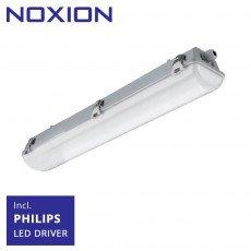 Noxion Réglette LED Étanche Pro 60cm 4000K 2550lm | (5x2.5mm2) - Substitut 2x18W