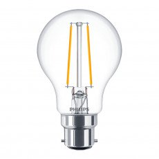 Philips Classic LEDbulb B22 A60 5.5W 827 Claire | Extra Blanc Chaud - Dimmable - Substitut 40W