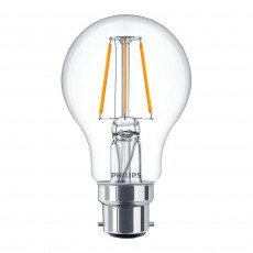 Philips Classic LEDbulb B22 A60 4W 827 Claire | Extra Blanc Chaud - Substitut 40W
