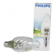 Philips EcoClassic 42W E14 230V BW35 Claire