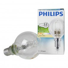 Philips EcoClassic Lustre 42W E14 230V P45 Claire