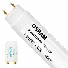 Osram SubstiTUBE Value EM 7.6W 830 60cm | Substitut 18W