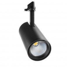 Noxion Spot LED sur rail 3-Phase Accento 35W 930 36D Noir| Substitut 35 & 70W CDM