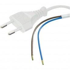 Euro cable 2x 0.75 White