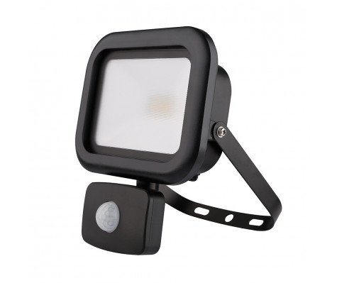 Noxion Projecteur LED Basic 3000K 10W | avec Sensor