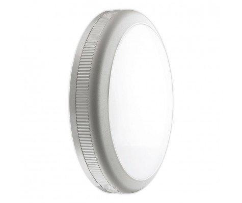 Noxion Bulkhead LED Core avec Sensor 830 20W Gris | Module d'Urgence 1H - Substitut 2x26W